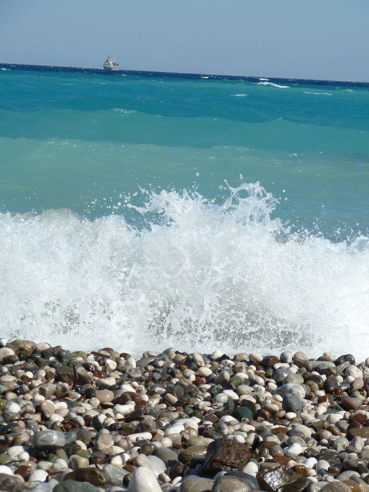 Am Strand in Kemer (Türkei)