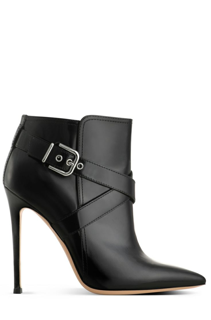 Womens Strap-Detailed Leather Ankle Boots Gianvito Rossi mlxHwcYbW