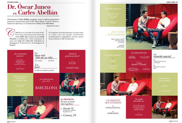 Entrevista Cara a Cara con el chef Carles Abellan y Dr. Junco #gastronomia #medicina #lifestyle