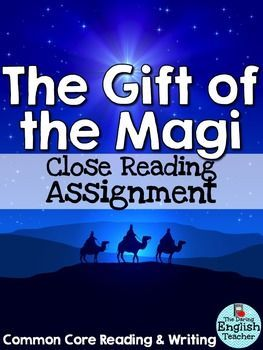 best gift of the magi images teaching reading gift of the magi close reading assignment