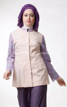 CHOCO BLOODROOT TOP - DAYANA PANTS - Pusat penjualan koleksi fashion hijab jilbab kerudung busana muslim Dena Apparel terbaru online shop store http://goo.gl/0Mlh7H