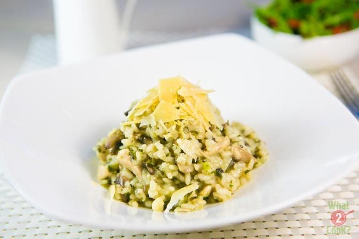 Chicken Risotto with Oregano & Chives