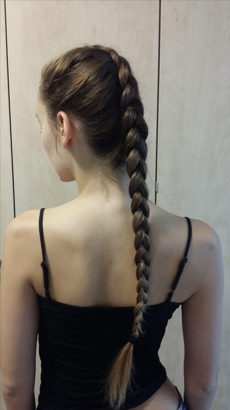 Doing my sister's hair! #dutchbraid #braid #plait #easyhairstyles #longhair #brownhair #hairstyles #hair #beauty #women