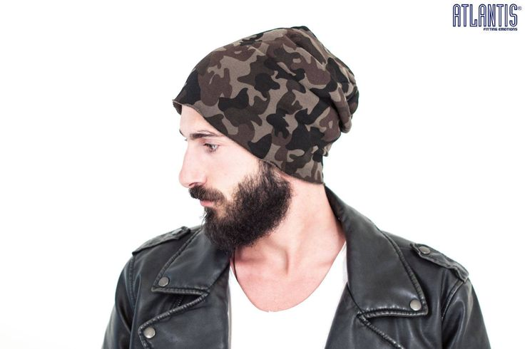 BROOKLIN CAMOUFLAGE 6 stitchings and rolled edging. Available also in grey , black , navy and olive colors. Discover more on http://atlantis-caps.com/ #headwear #item #order #business #atlantis #btob