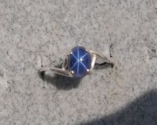 the linde star sapphire. the 'steady ring' of choice in my day. oh how i wanted someone to give me one.