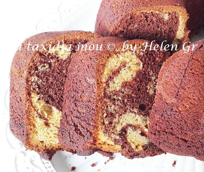 Κλασικό κι αγαπημένο κέικ που μας θυμίζει τα παιδικά μας χρόνια!     Θυμάμαι ότι τότε όλες οι νοικοκυρές χρησιμοποιούσαν μαργαρίνες, αντί ...