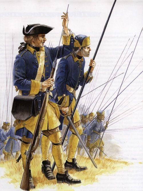 Swedish Military Uniforms - Great Northern War