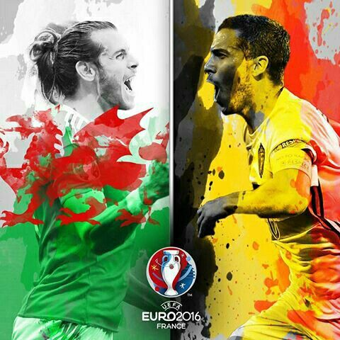 Wales beat Belgium. EURO2016