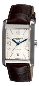 Baume & Mercier Men's 8822 Hampton Classic Automatic Silver Guilloche Dial Watch