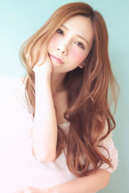 ふんわりかわいい♡愛されロングヘアスタイル♡真似したい髪型・アレンジ・カット♡