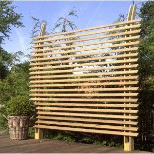 Claustra, pare vue bois, aménagement du jardin | Botanic
