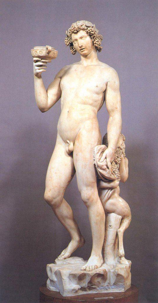 Микеланджело Буонарроти (1475 — 1564) – 331 фотография  Бахус