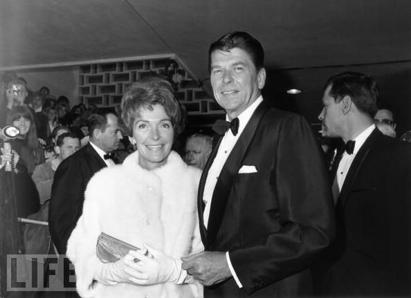 Ronald Reagan and Nancy in 1967.