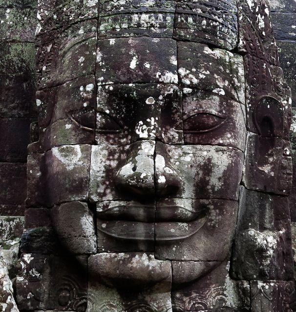 Temple Bayon - Siem Reap, Cambodge