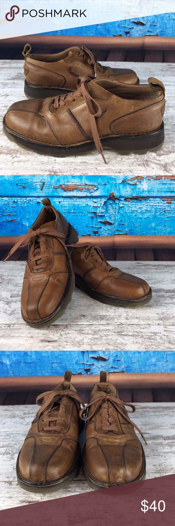 Dr Doc Martens 2B89 Brown Leather Dr Doc Martens 2B89 Brown Leather Bicycle Toe Casual Oxford Shoes Mens 8 US/UK 7 Pre-owned as shown. Dr. Martens Shoes Oxfords & Derbys
