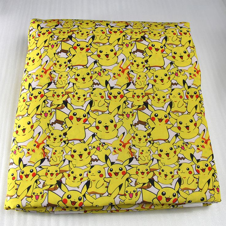 42770 50*147cm cartoon Pikachu Pokemon fabric patchwork printed cotton fabric for Tissue Kids Bedding textile,Sewing Tilda Doll-in Fabric from Home & Garden on Aliexpress.com | Alibaba Group