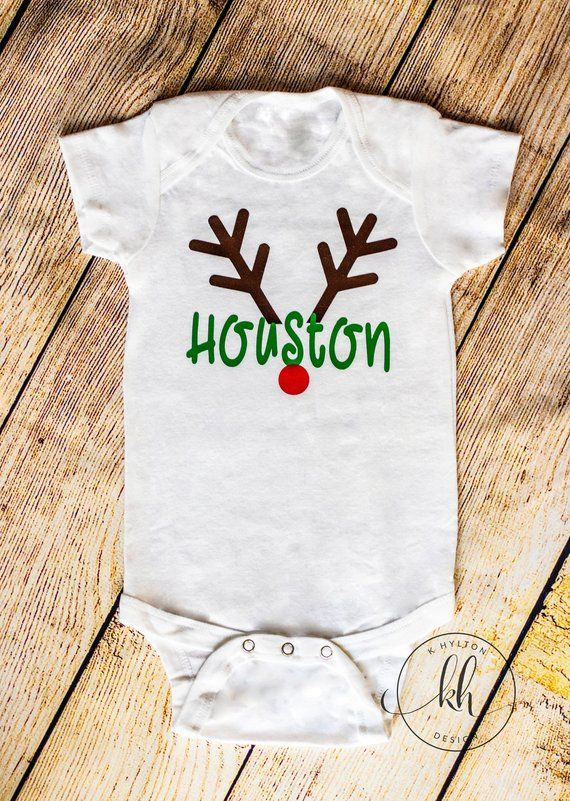 12a7b9bbf This adorable onesie is perfect for photos! Custom made for each order.  Vinyl color