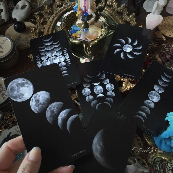 terrifoss Sampling...some card backs of our Earthly Souls and Spirits™ Oracle card deck all of the moons are photographed and designed by my daughter @saarob The fronts are my paintings find them in my Etsy shop we are soon approaching 1000 decks now in circulation worldwide. You can also view a video of us unveiling this deck on my Facebook page Artist Terri Foss . Order your 8x10s now because they are retiring ➳➵➳➵➳➵➳➵➳➵➳➵ Visit my Etsy shop ~ Link in bio ~ Original Art, Prints, Jewelry…