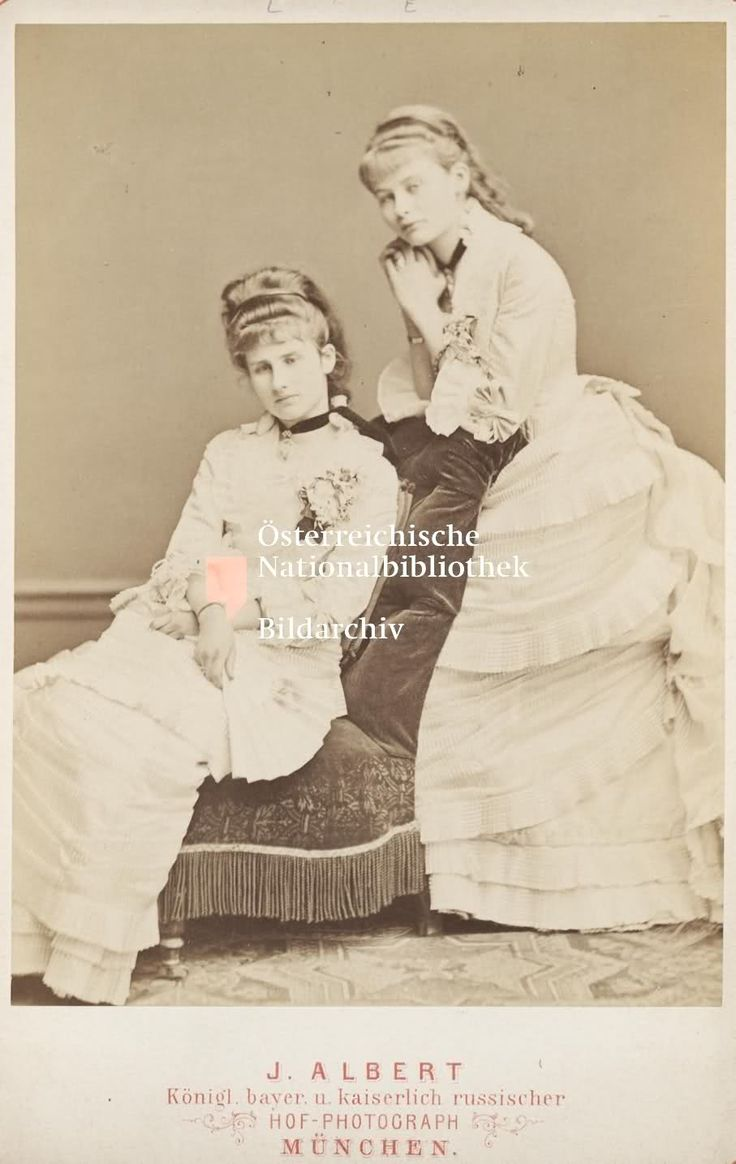 Elisabeth&Louise, daughters of Néné, ca. 1870. Louise married prince Friedrich of Hohenzollern-Sigmaringen, brother of King Carol I of Romania and had no issue, and Elisabeth married Miguel of Braganza, only son of Miguel I of Portugal and brother of Duchess Maria Jose of Bavaria and archduchess Maria Theresa of Austria. Elisabeth and Miguel had 3 children. Sadly she died a short while after giving birth to their only daughter Maria Teresa.