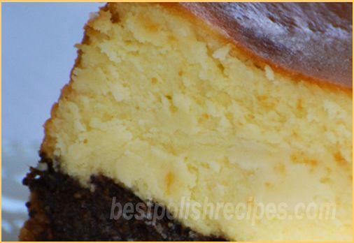 Poppy seed cheesecake (Seromak)