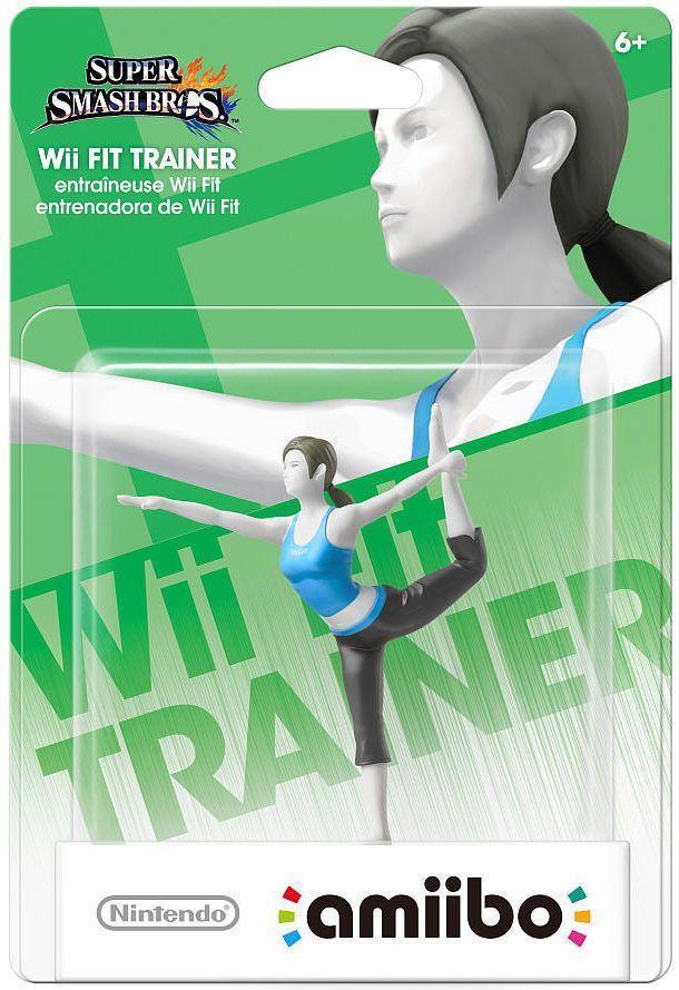 Nintendo Super Smash Bros Amiibo Wii Fit Trainer WiiU 3ds ...
