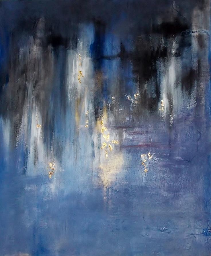 Skyfall, acrylic on canvas 2012