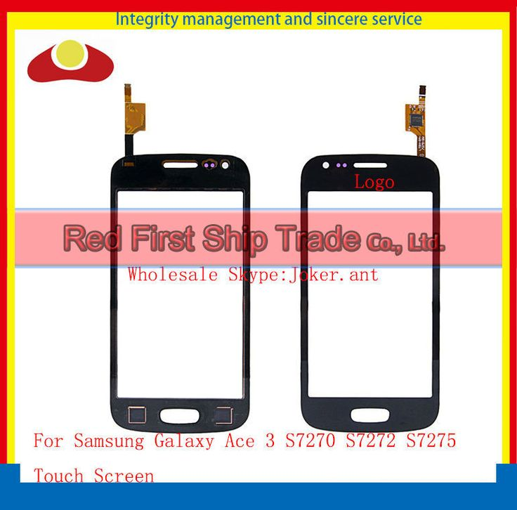 """Original 4.0"""" For Samsung Galaxy Ace 3 S7270 S7272 S7275 Touch Screen Digitizer Sensor Front Glass Lens Black White+Tracking"""