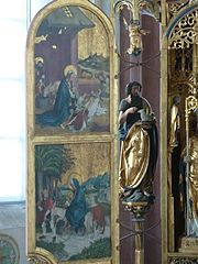 St Blasius Kaufbeuren inside altar left.jpg