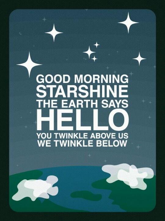 Good Morning Starshine Oliver Download : Good morning starshine katie morton words of wisdom