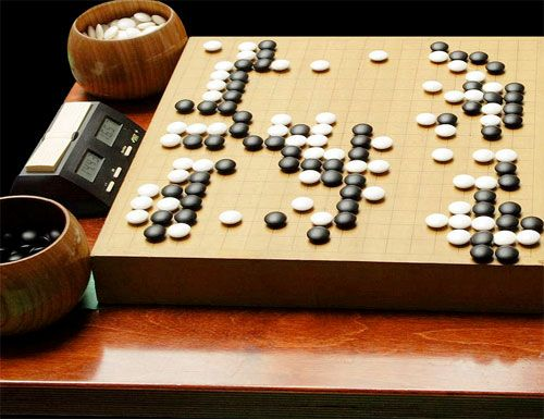 Go (I-go) is a classic Japanese game.