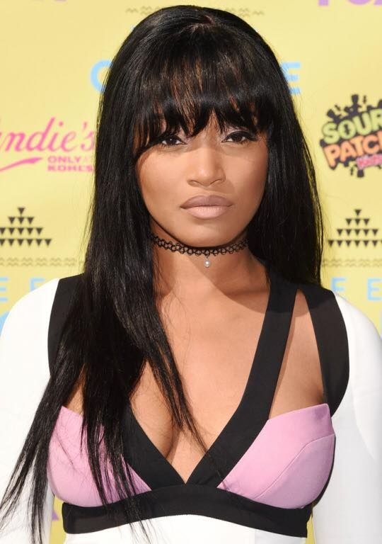 Keke Palmer Gets New Hairstyle - BANGS