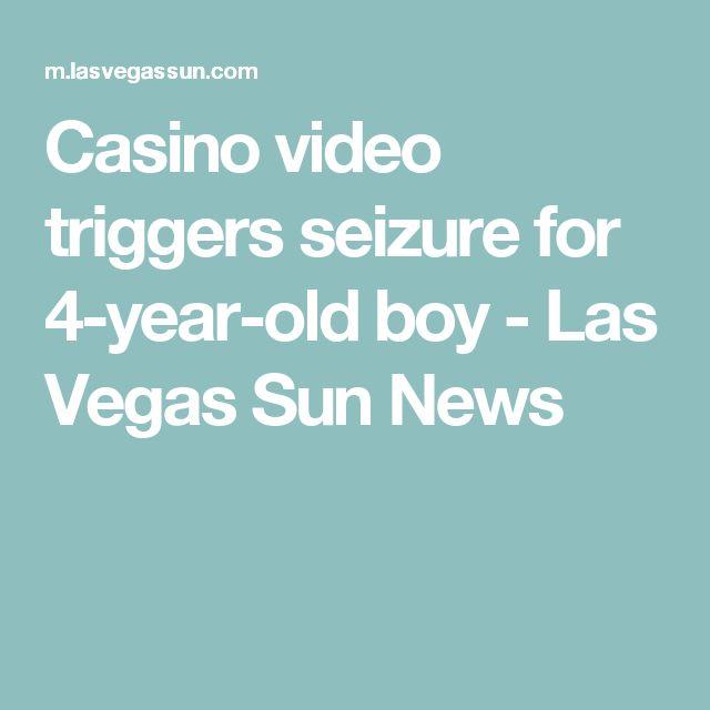 Casino video triggers seizure for 4-year-old boy - Las Vegas Sun News
