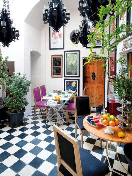 Office de la casa del interiorista Gaspar Sobrino