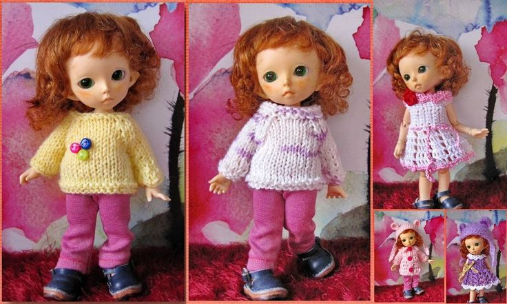 8 Pcs clothing for Pukifee Fairyland bjd sd dolls 1/8 #PukifeeFairylandbjdsddolls18