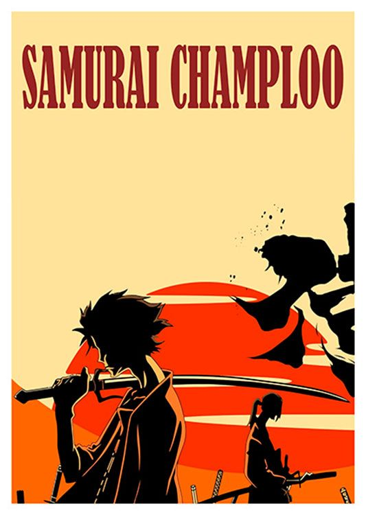 Samurai Champloo Anime Poster, available at 45x32cm. This poster is printed on matt coated 350 gram paper.
