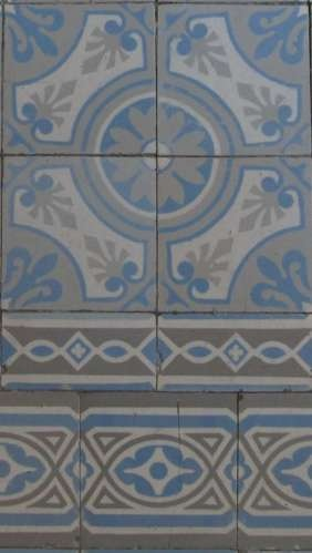 8 best living ceramics mayolica images on pinterest flooring tiles paintings and stone - Credence cement tegels ...