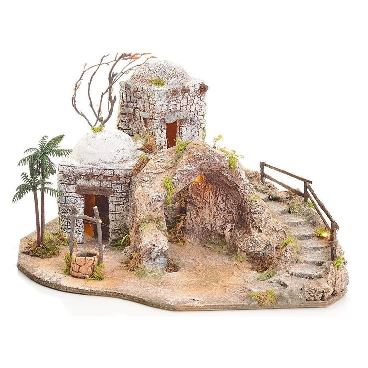 Grotta presepe illuminata stile arabo 42x40x40: Amazon.it: Casa e cucina