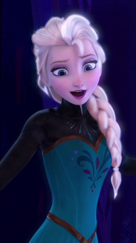 """""""I'm never going back; the past is in the past! Let it go, let it go, and I'll rise like the break of dawn!"""""""