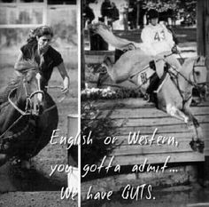 funny english vs western horse riding quotes - Google Search