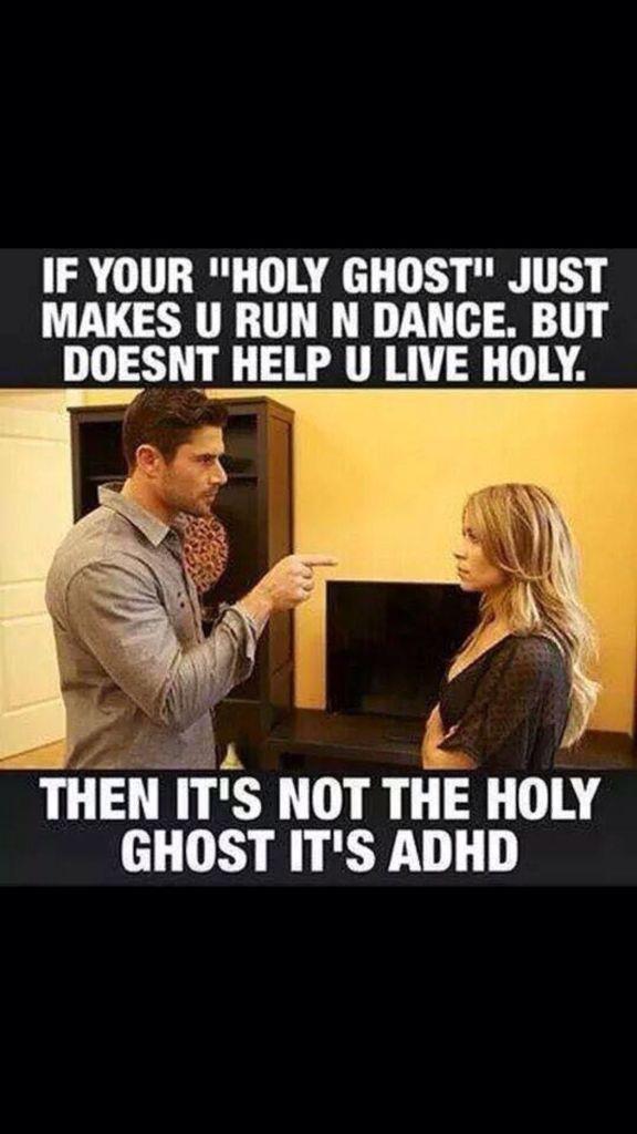 Pentecostal humor