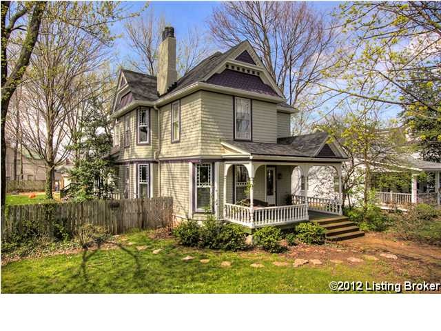 My Victorian Dream House: 104 BLACKBURN AVE, Louisville KY 40206.  I'd ask Santa, and hope for a Miracle (a la 34th Street), and just hope he'll get a good chuckle since I haven't written him in years.  May be little Greta Jo and Clara Lou will have better luck in crayon...  hmm....