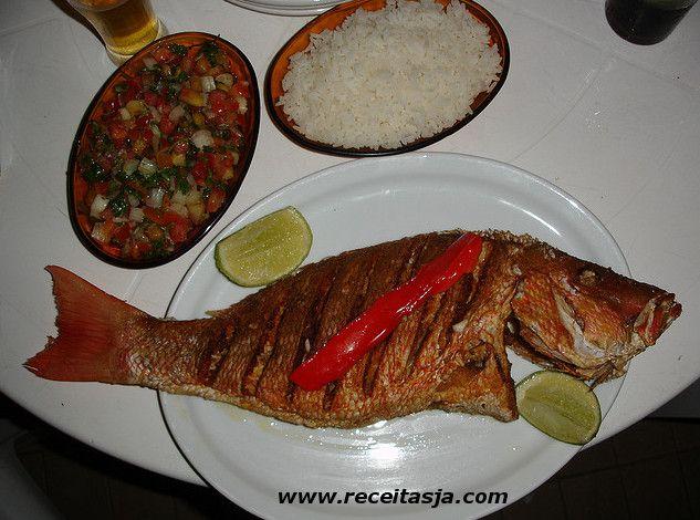 Receita de Red Fish com Tomate Agridoce - http://www.receitasja.com/red-fish-com-tomate-agridoce/