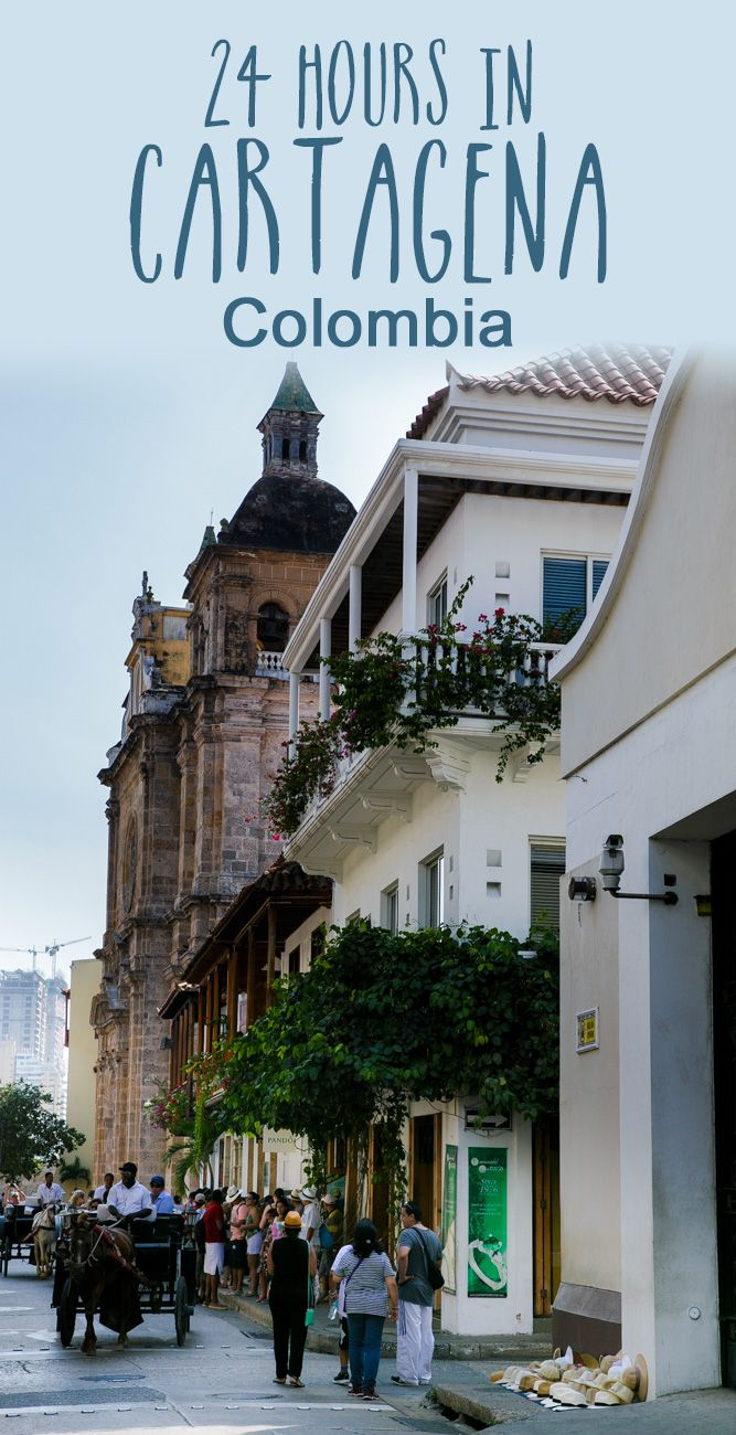 How to spend one day in Cartagena, Colombia