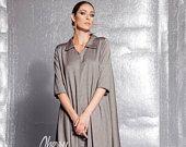 New Brown maxi dress/Maxi Dress/Long sleeve dress/Shirt dress/Midi dress/Maxi dress with sleeves/Party dress/Evening dress/Fall dress