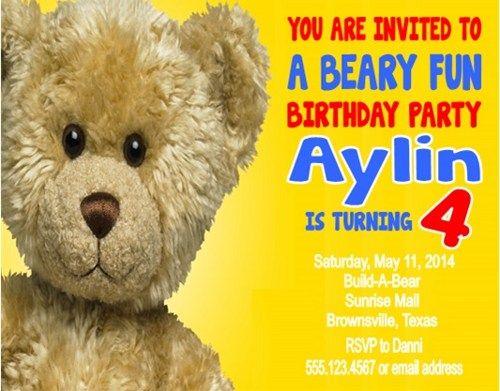 152 best Birthday Party Invitations images on Pinterest Birthday