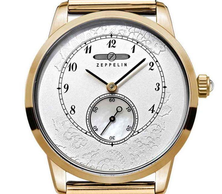 Zeppelin Viktoria Luise Lady 7333M-5 Luxusní dámské hodinky z kolekce Viktoria Luise Lady nabízí velmi poutavým designem a bezpochyby i kvalitním zpracováním.