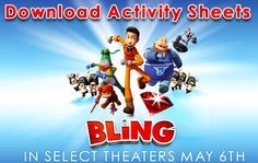 Now is your chance to head to the to your local theater and rock out with the whole family to a new superhero adventure, BLING! Featuring the voice talents of Taylor Kitsch,
