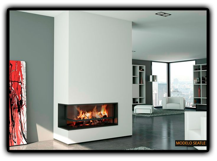 70 best images about chimeneas on pinterest fireplace for Chimeneas lena modernas