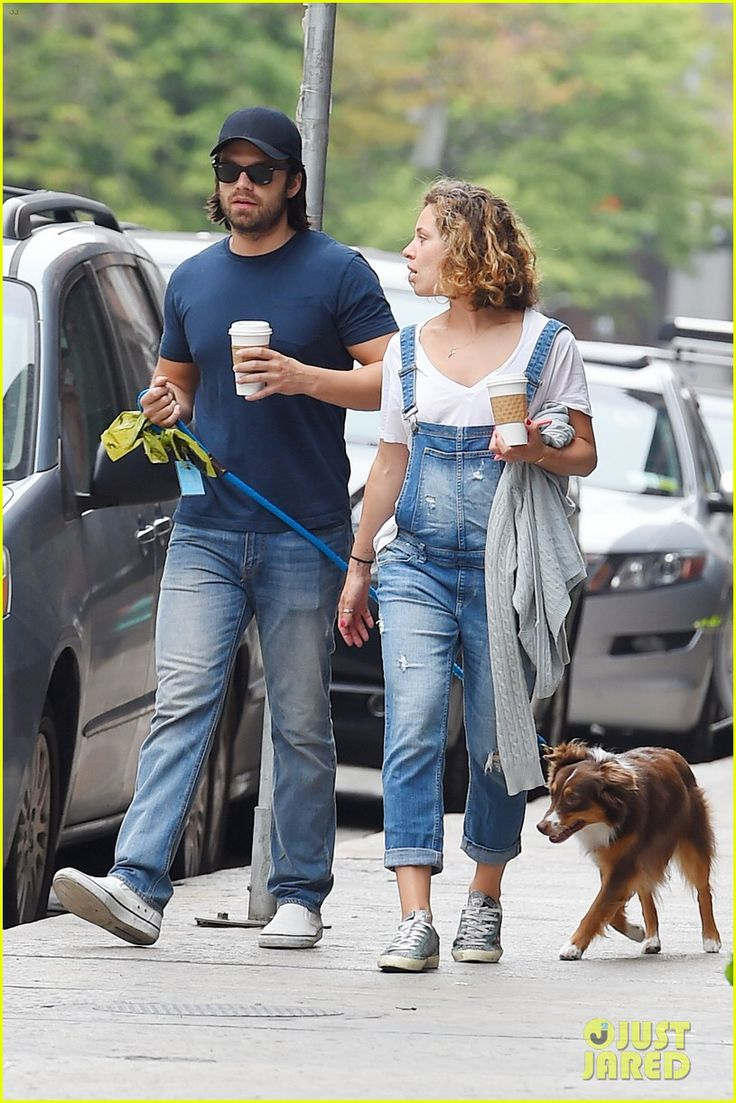 Boyfriend and girlfriend couple: sebastian stan and margarita levieva