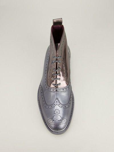 VIVIENNE WESTWOOD - two-tone shoe  $369.28